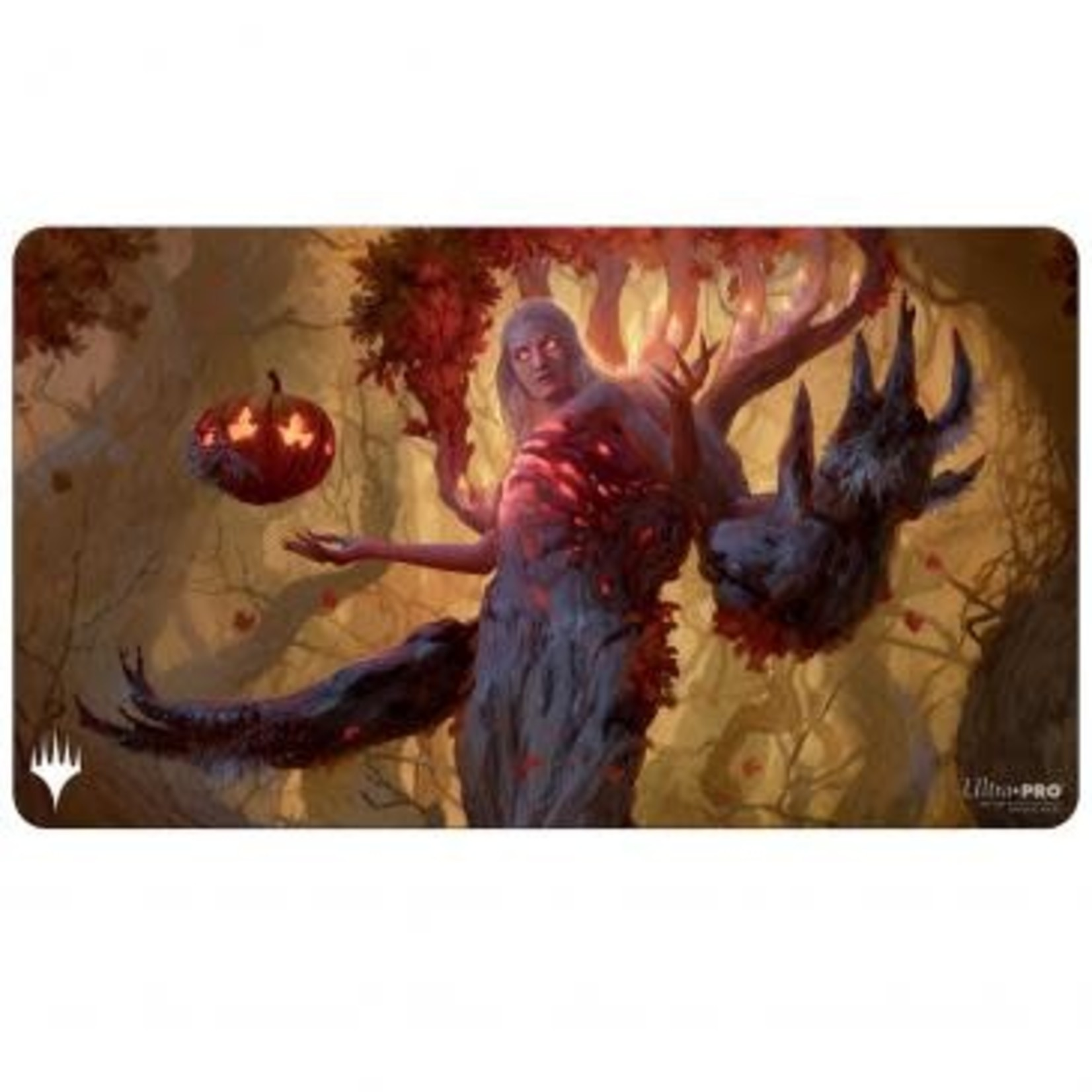 Ultra Pro Magic: The Gathering - Innistrad: Midnight Hunt Playmat G featuring Wrenn and Seven