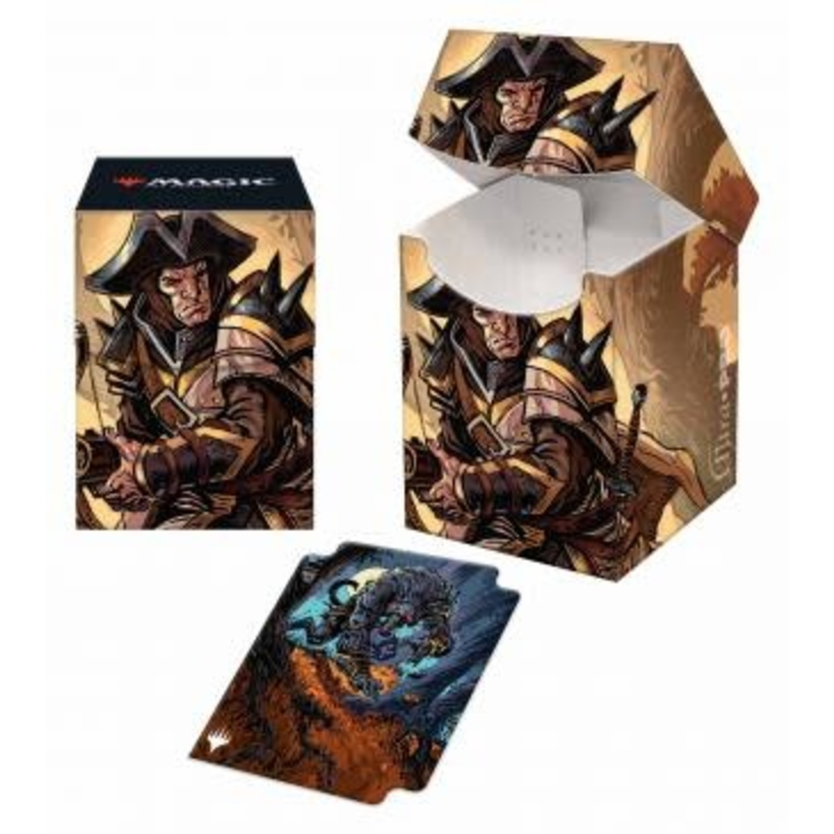 Ultra Pro Magic: The Gathering - Innistrad: Midnight Hunt Deck Box V1 featuring Brutal Cathar (100)
