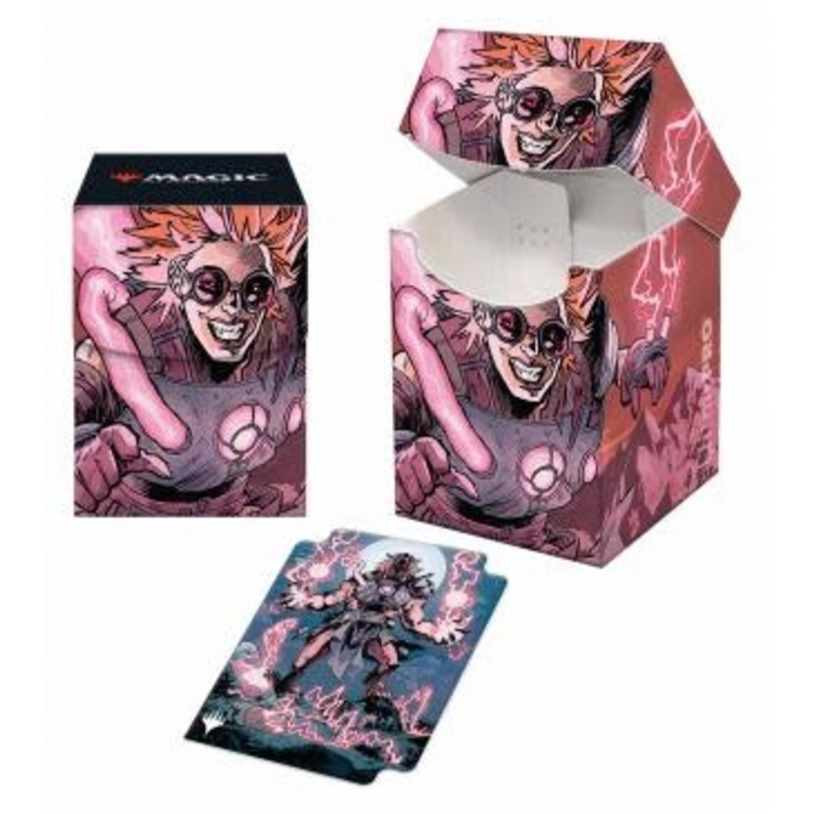 Ultra Pro Magic: The Gathering - Innistrad: Midnight Hunt Deck Box V4 featuring Reckless Stormseeker (100)