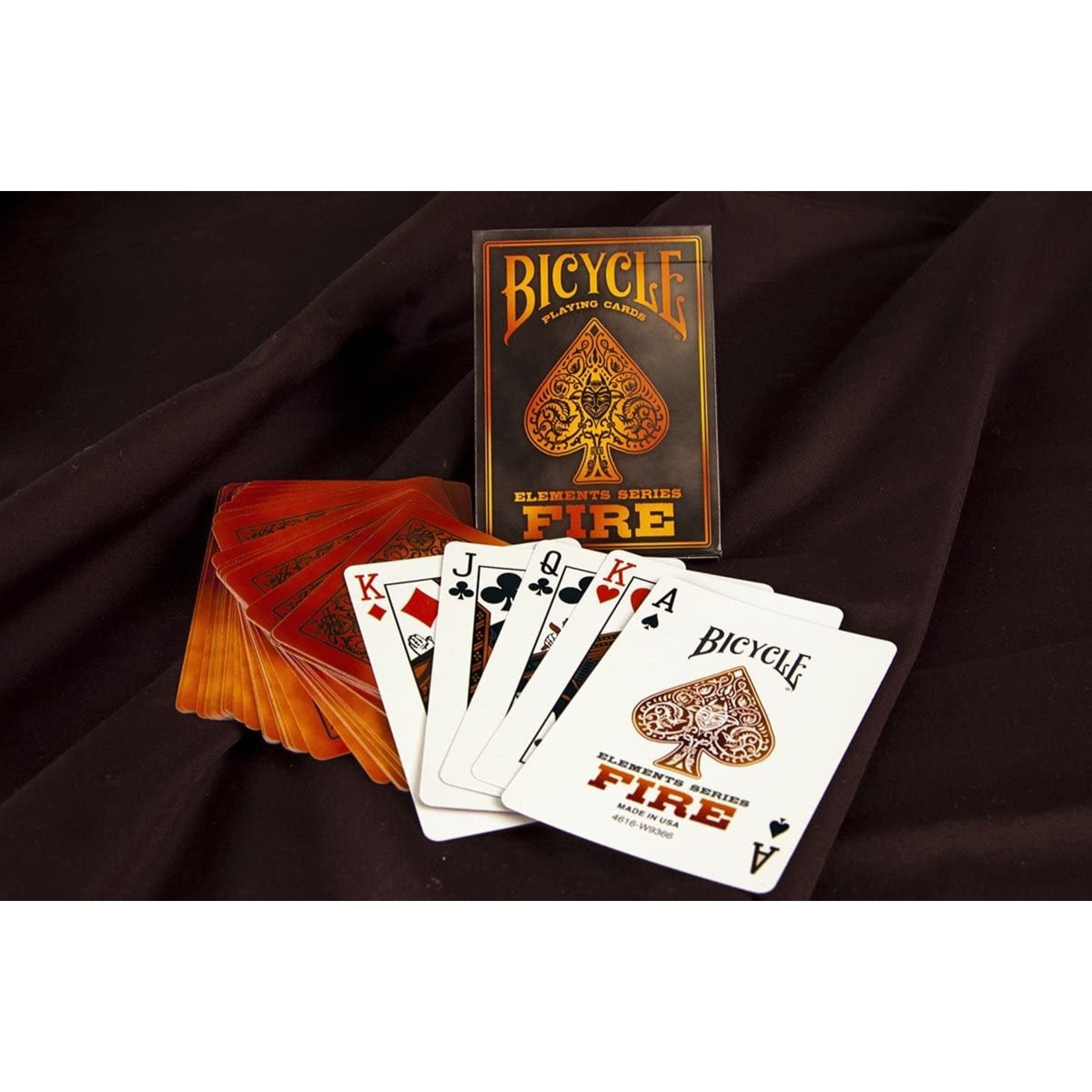 Bicycle Bicycle Playing Cards: Fire