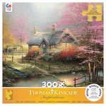 Ceaco Thomas Kinkade Stepping Stone Cottage Puzzle (300p)