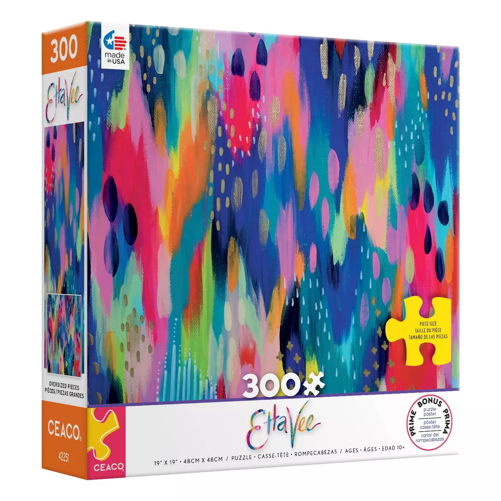 Ceaco Etta Vee Hello Color Puzzle 2281-1 (300 pieces)
