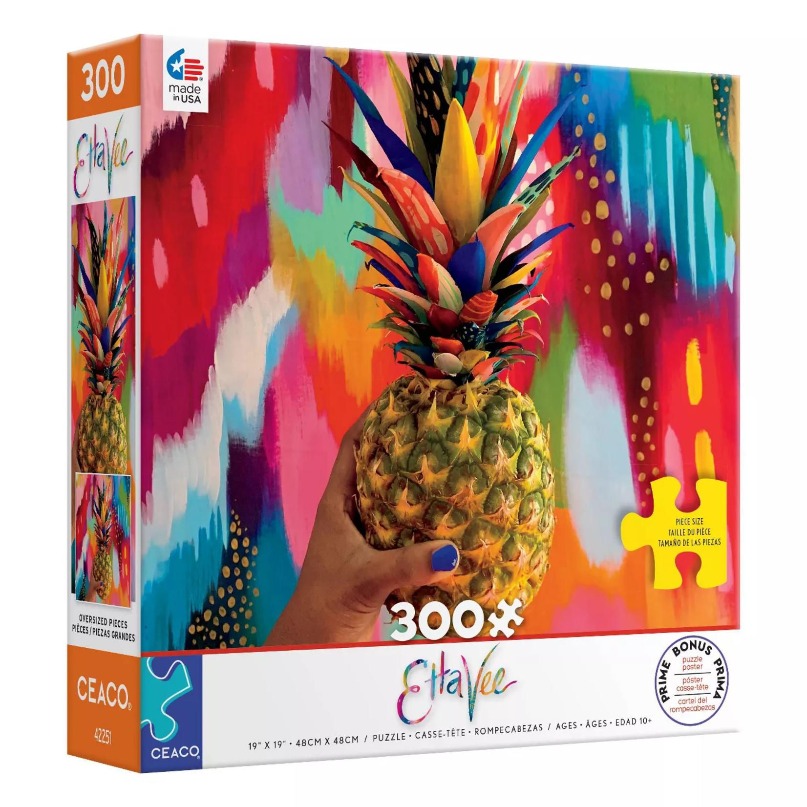Ceaco Etta Vee Pineapple Puzzle 2281-3 (300 pieces)