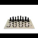Worldwise Imports Chess Set Black Alabaster