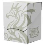 Arcane Tinmen Dragon Shield Deck Shell (White with Black Interior)