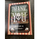 Greeting Card Thank You - Gratiam In Aeternum