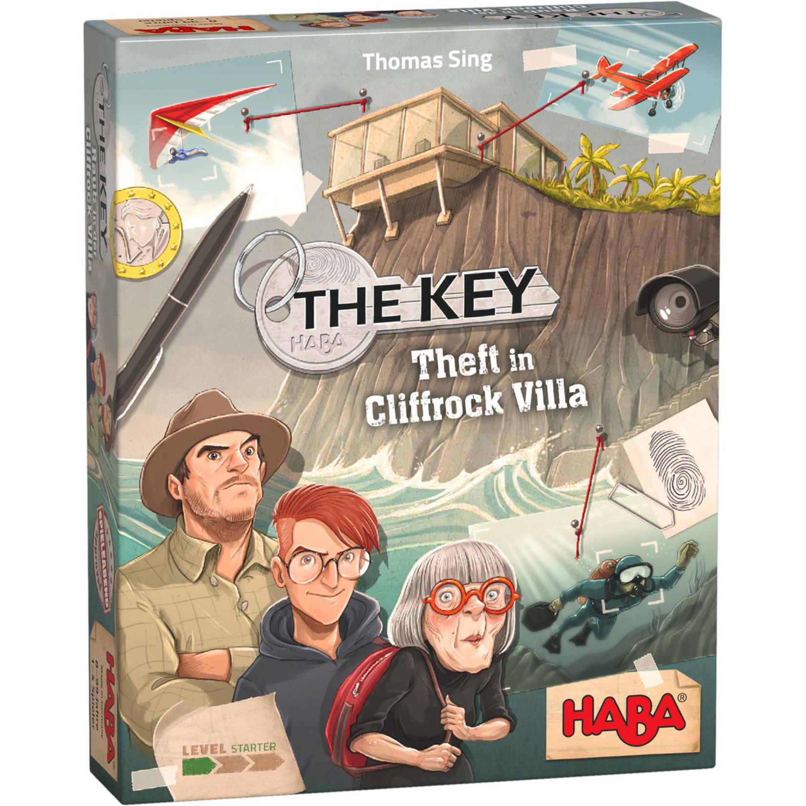 Haba The Key- Theft at Cliffrock Villa