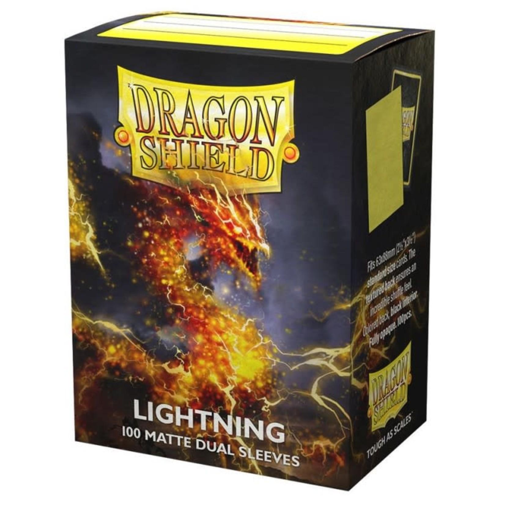 Arcane Tinmen Dragon Shield Card Sleeves Dual Matte Lightning (100)