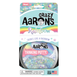 """Crazy Aarons Thinking Putty: Rainbow (4"""")"""