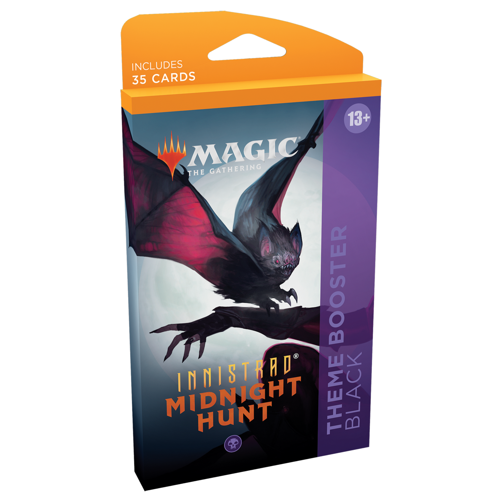 Magic: The Gathering Magic: The Gathering -  Innistrad: Midnight Hunt Theme Booster (Black)