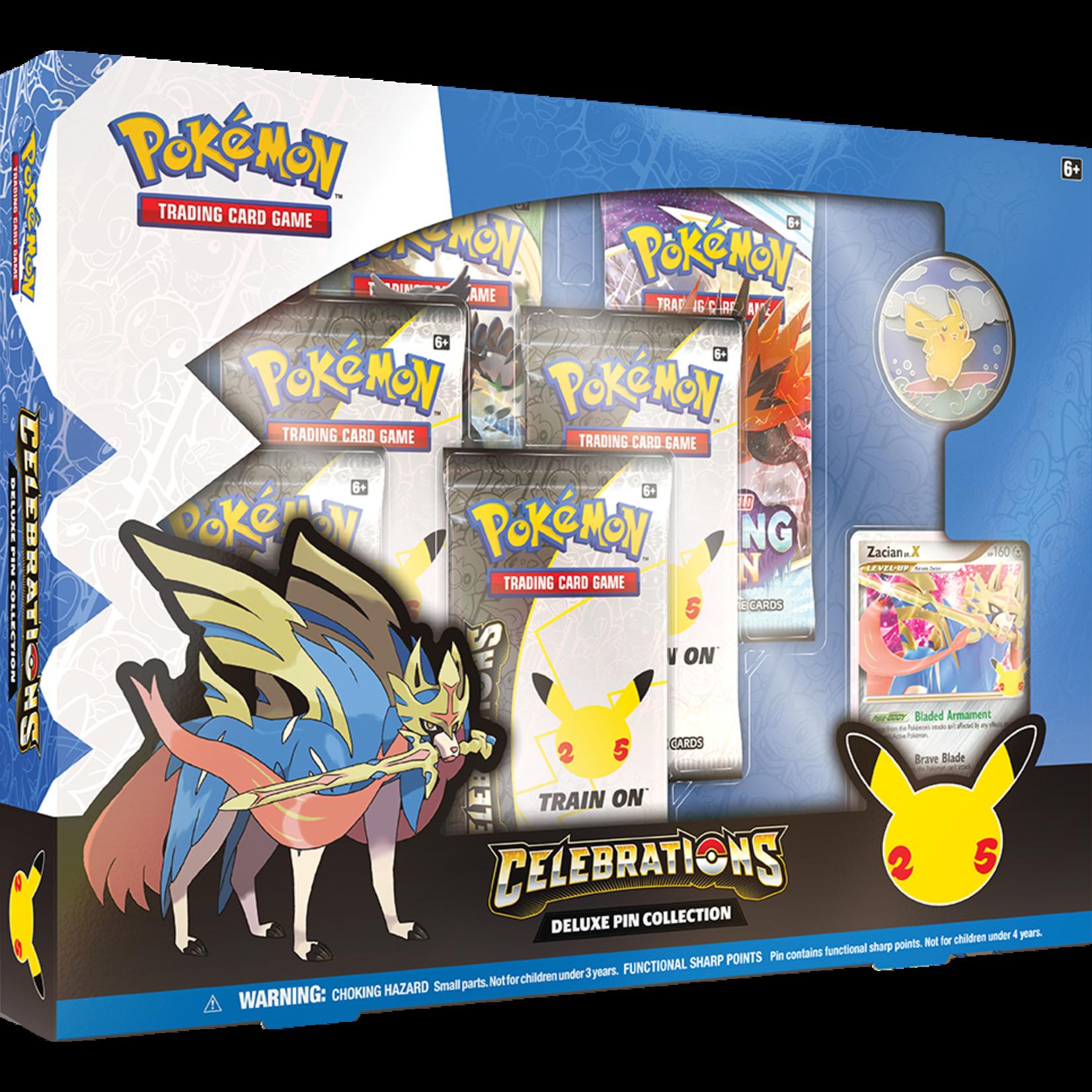 Pokémon Pokémon TCG: Celebrations Deluxe Pin Collection