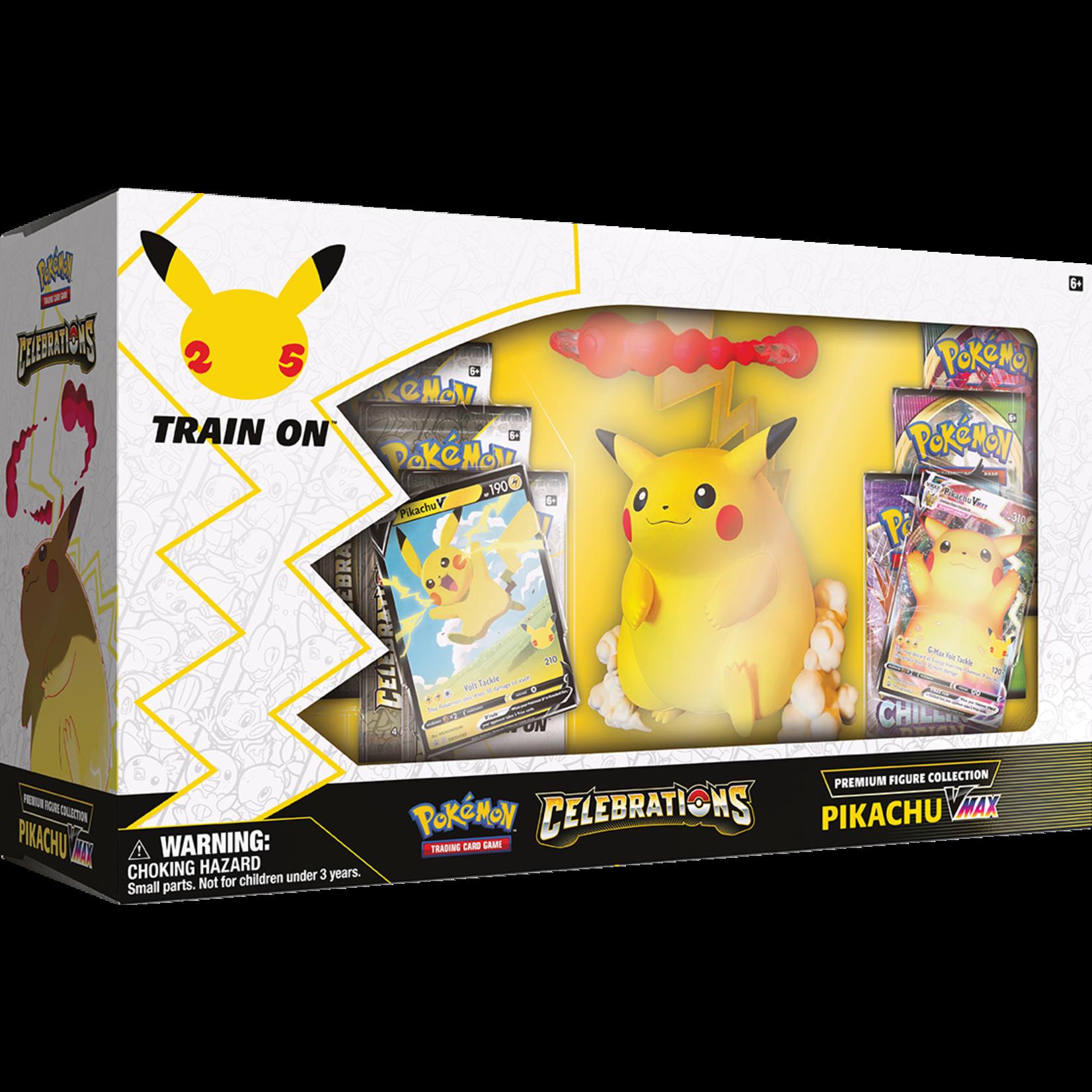 Pokémon Pokémon TCG: Celebrations Premium Figure Collection—Pikachu VMAX