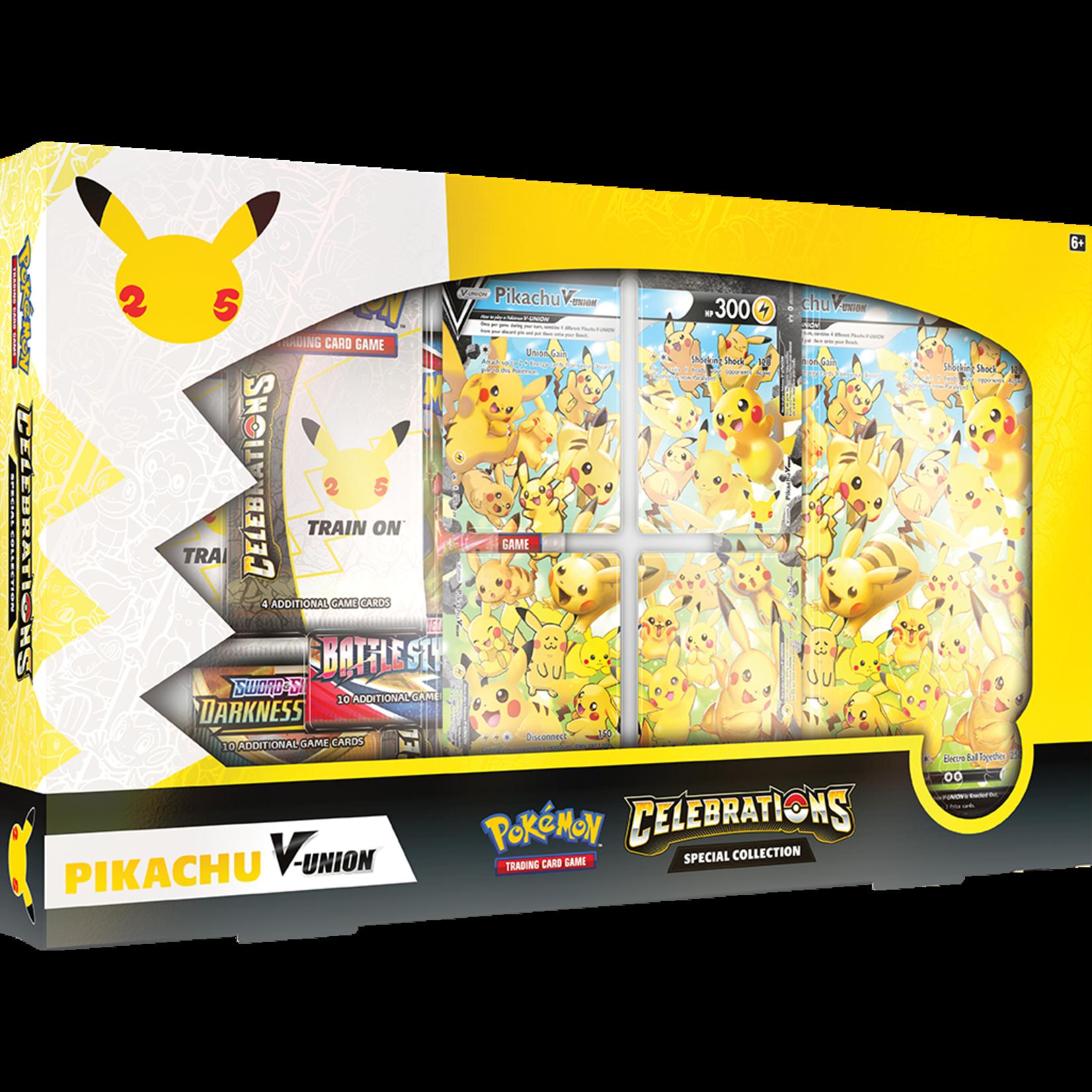 Pokémon Pokémon TCG: Celebrations Special Collection—Pikachu V-UNION
