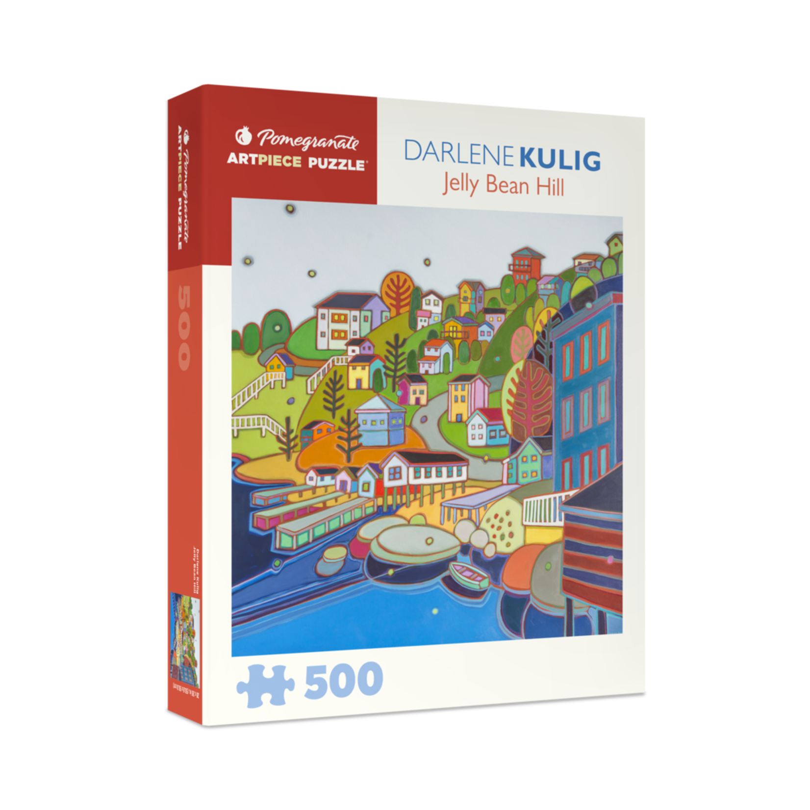 Pomegranate Darlene Kulig: Jellybean Hill (500 pieces)