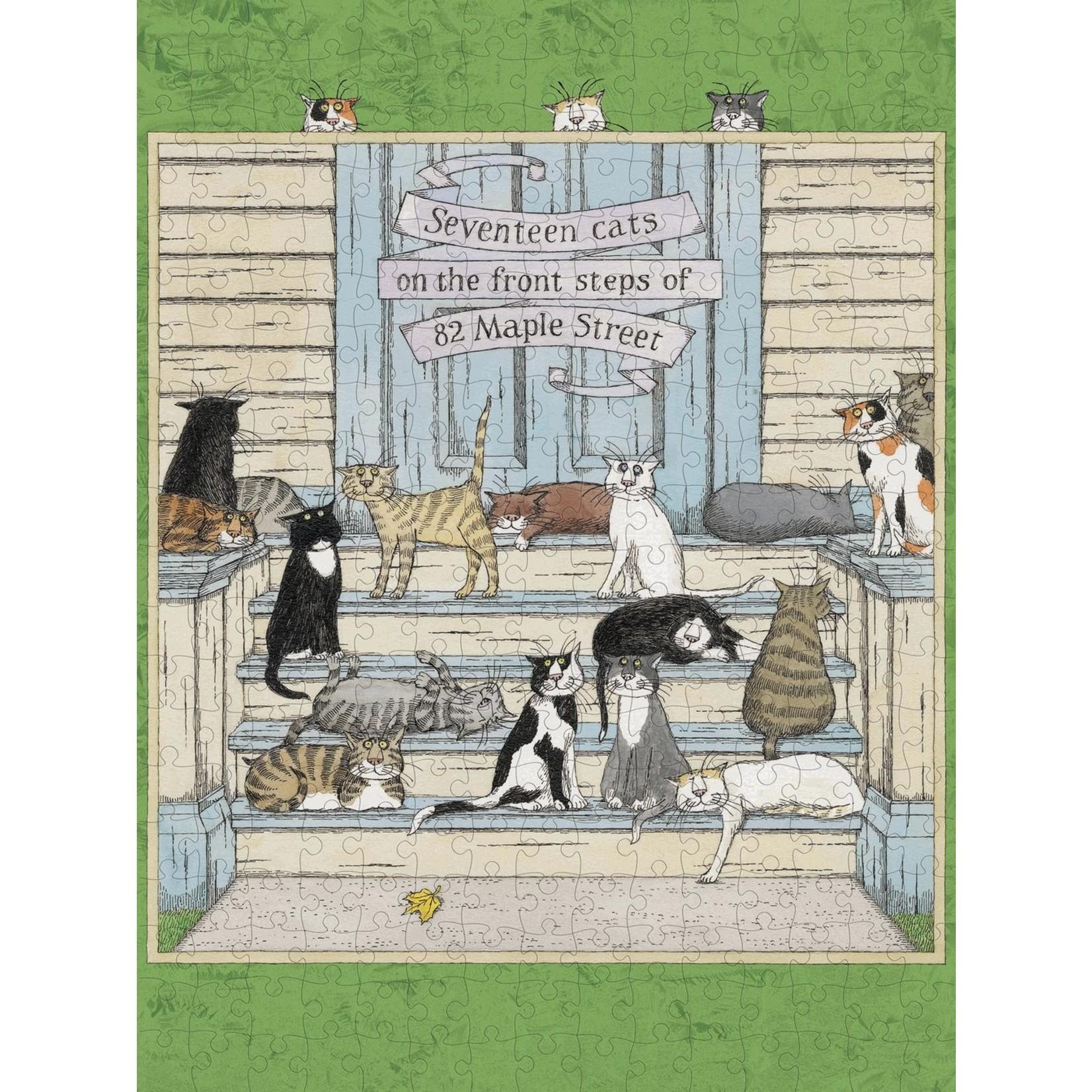 Pomegranate Edward Gorey: Seventeen Cats (300 pieces)