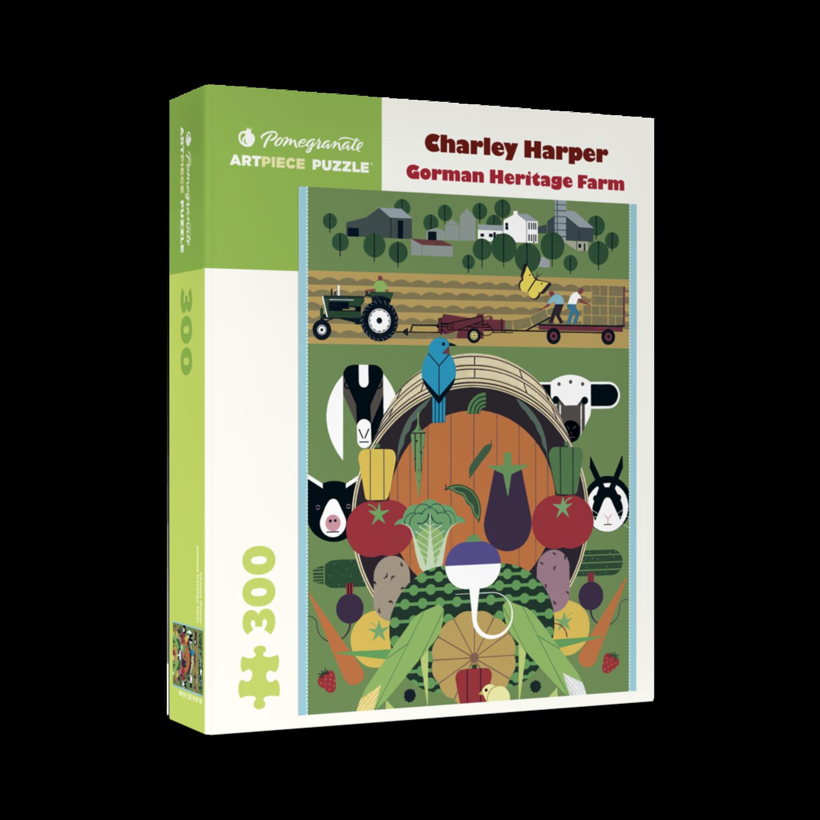 Pomegranate Charley Harper: Gorman Heritage Farm (300 pieces)