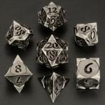 Hymgho Dice US Hymgho 7-Set Morning Star Hollow Ancient Silver