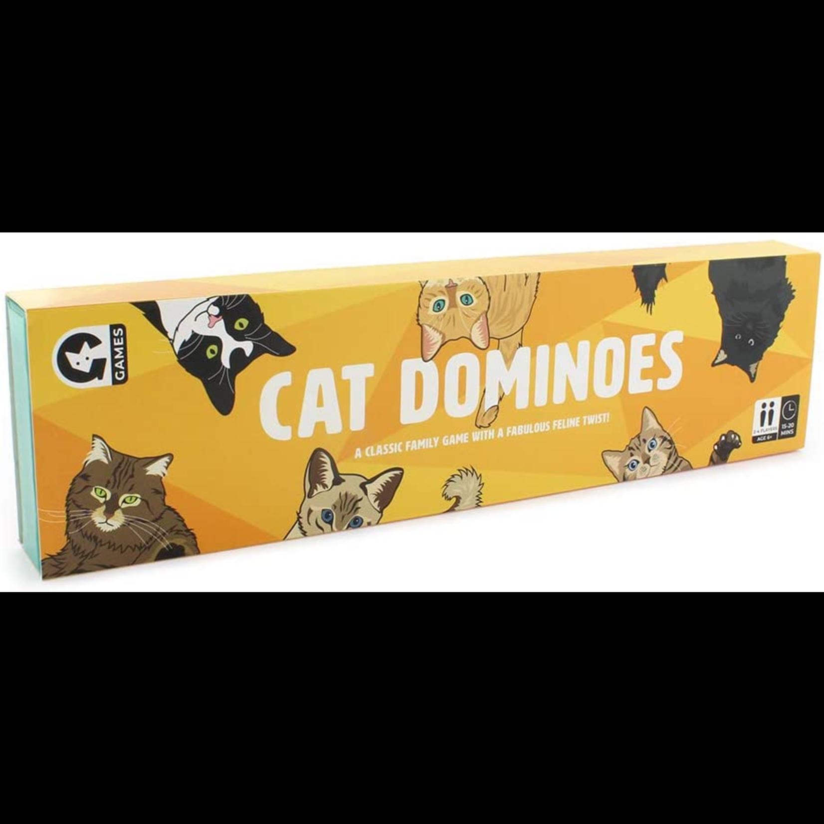 Ginger Fox Cat Dominoes
