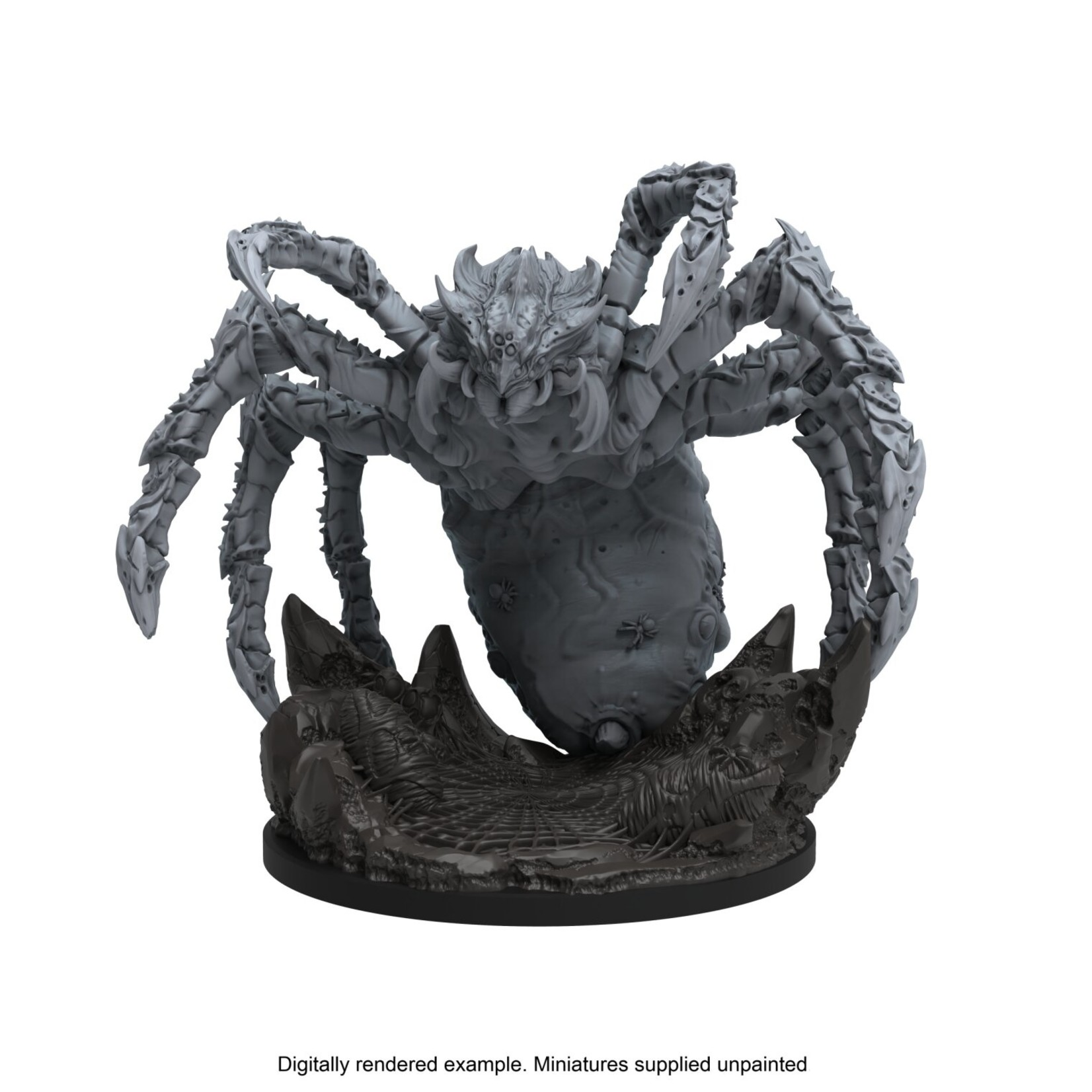 Steamforged Epic Encounters: Web of the Spider Tyrant