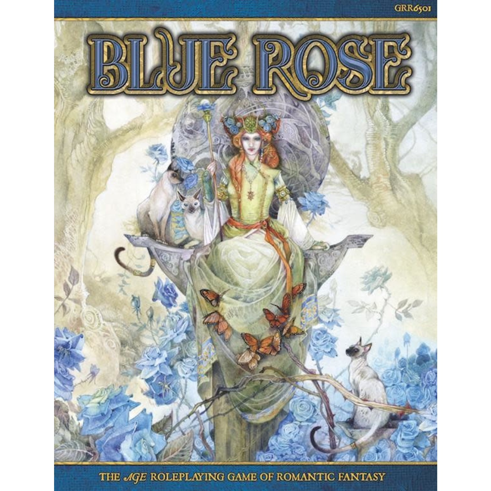Labyrinth Events Free RPG Day: Blue Rose