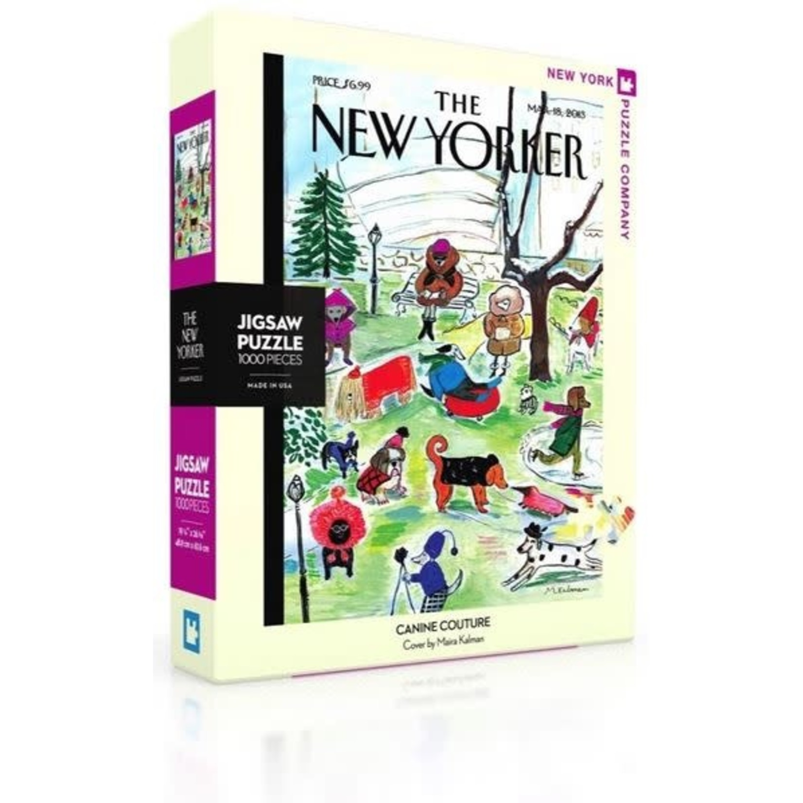 New York Puzzle Company Canine Couture Puzzle (1000 pieces)