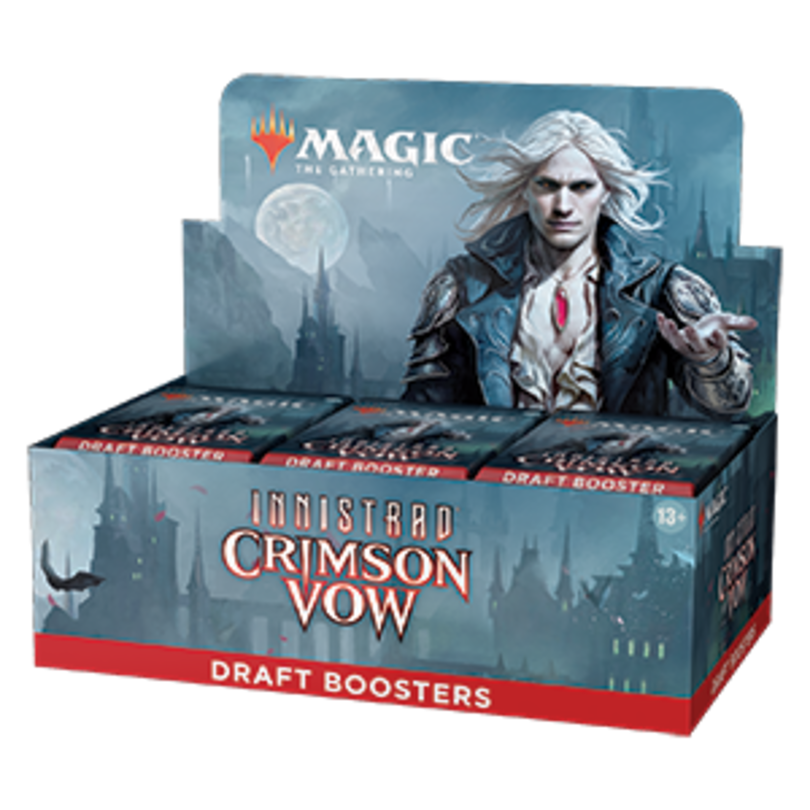 Magic: The Gathering Magic: The Gathering - Innistrad: Crimson Vow Draft Booster Box