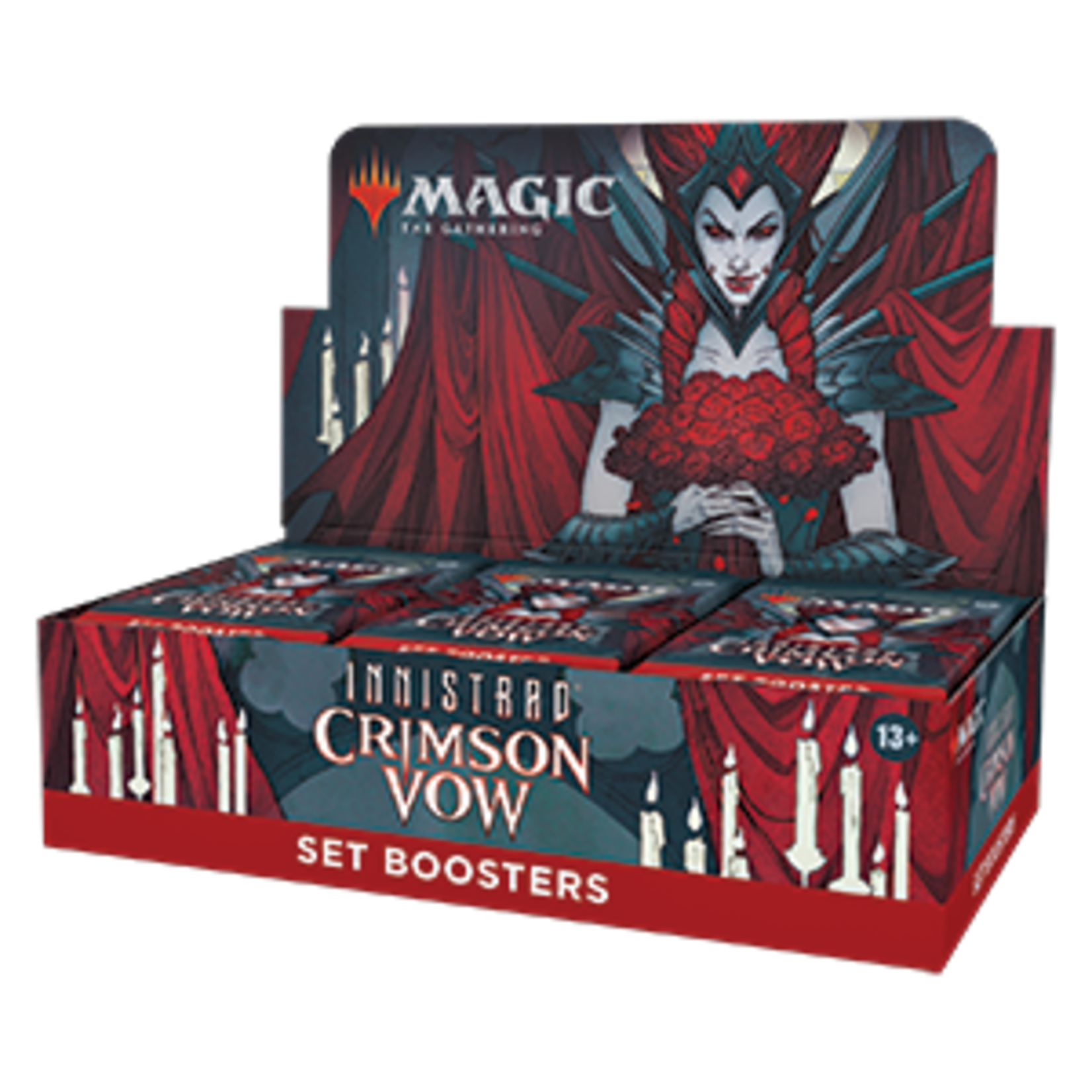 Magic: The Gathering Magic: The Gathering - Innistrad: Crimson Vow Set Booster Box