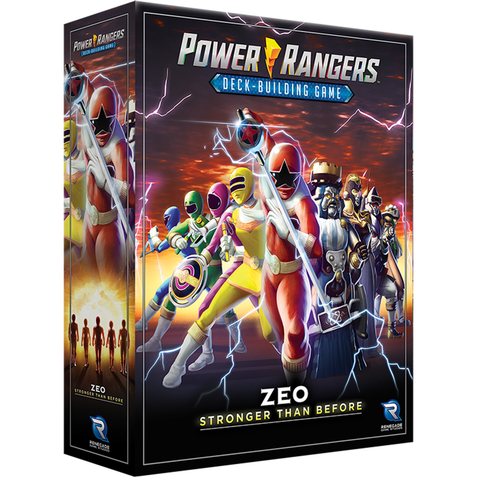 Renegade Power Rangers Deck-Buidling Game: Zeo Stronger Than Before