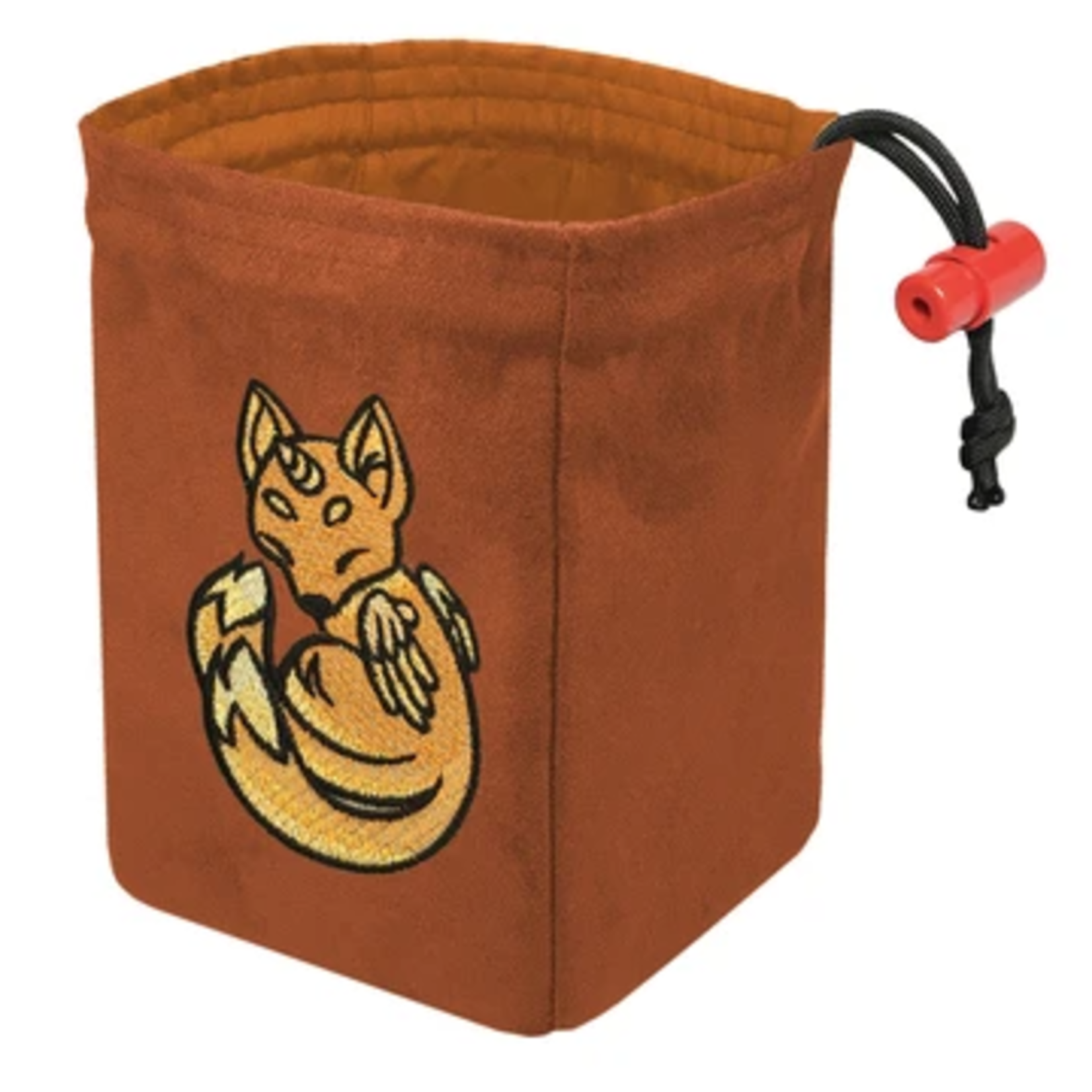 Red King Co Embroidered Dice Bag Charmed Creatures: Fox