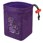 Red King Co Embroidered Dice Bag Charmed Creatures: Cat