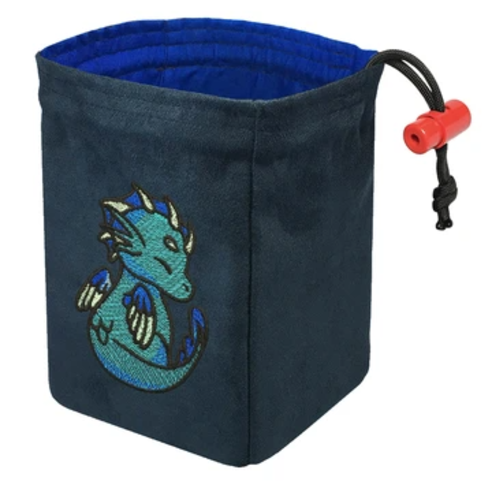 Red King Co Embroidered Dice Bag Charmed Creatures: Sea Dragon