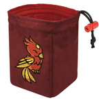 Red King Co Embroidered Dice Bag Charmed Creatures: Phoenix