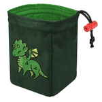 Red King Co Embroidered Dice Bag Charmed Creatures: Dragon