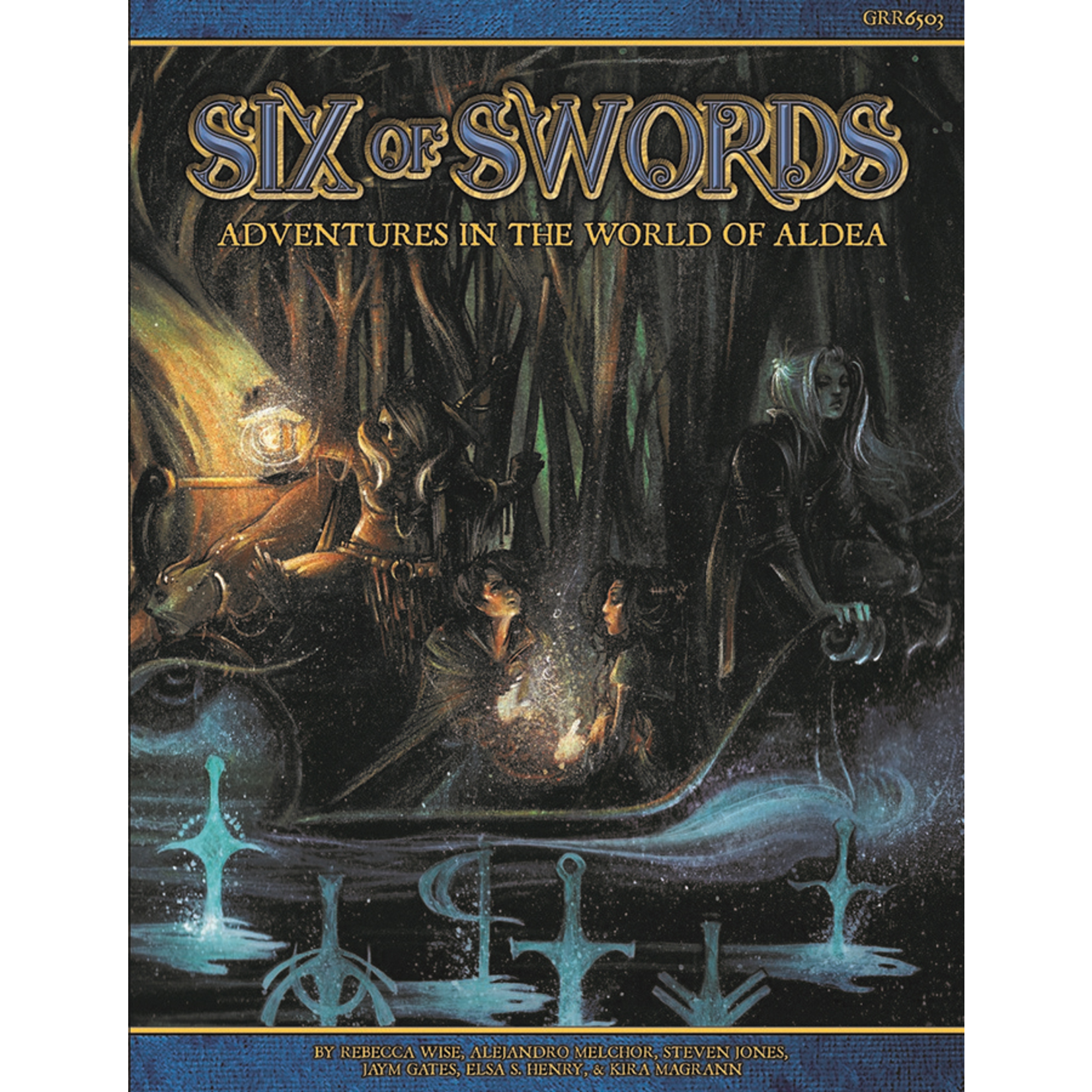 Green Ronin Blue Rose RPG: Six of Swords - Adventures in the World of Aldea