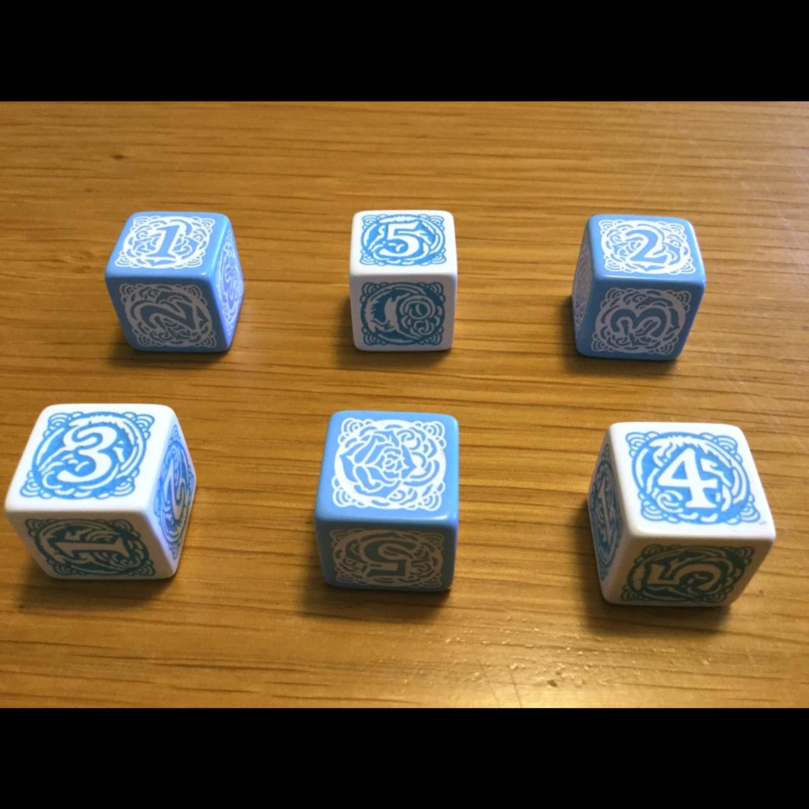 Green Ronin Blue Rose RPG: Dice Set