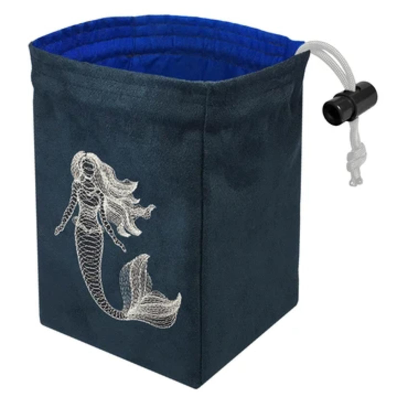 Red King Co Glow in the Dark Dice Bag: Dimensional Mermaid