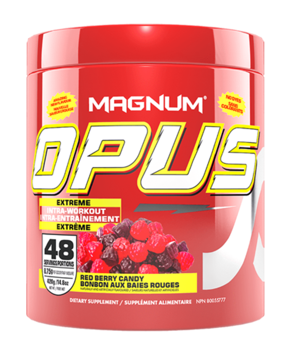 Magnum Opus Red Berry Candy