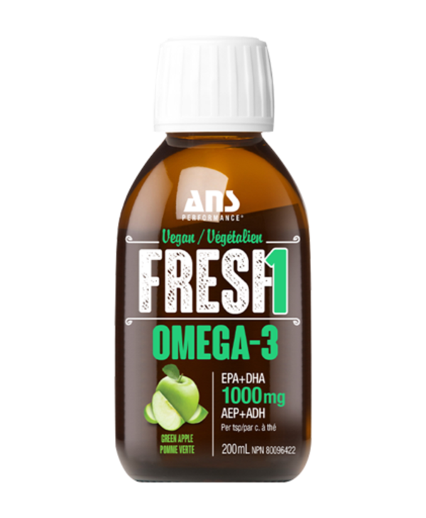 ANS vegan omega 3 200ml green apple