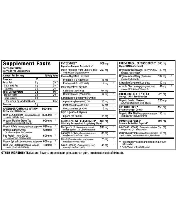 Cytogreens 30 Servings