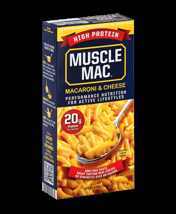 Muscle Mac White Cheddar