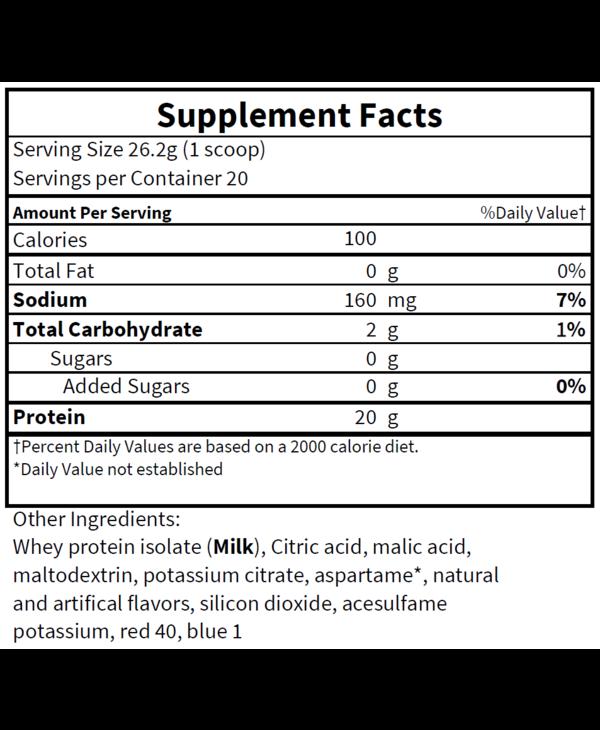 Elemental Formulations Whey 20 Servings Watermelon Sorbet