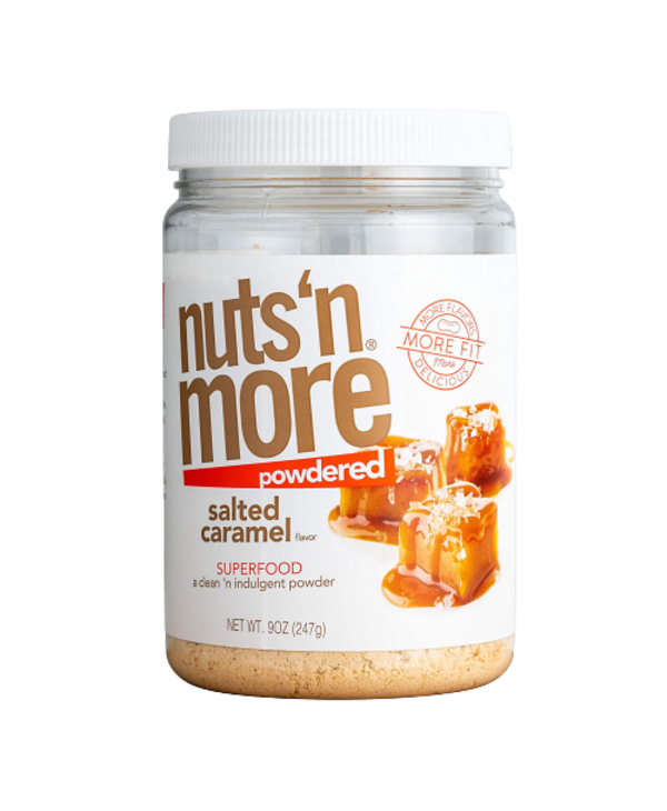 Nuts 'N More Salted Caramel Peanut Butter Powder