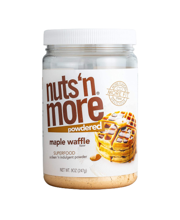Nuts 'N More Maple Waffle Peanut Butter Powder