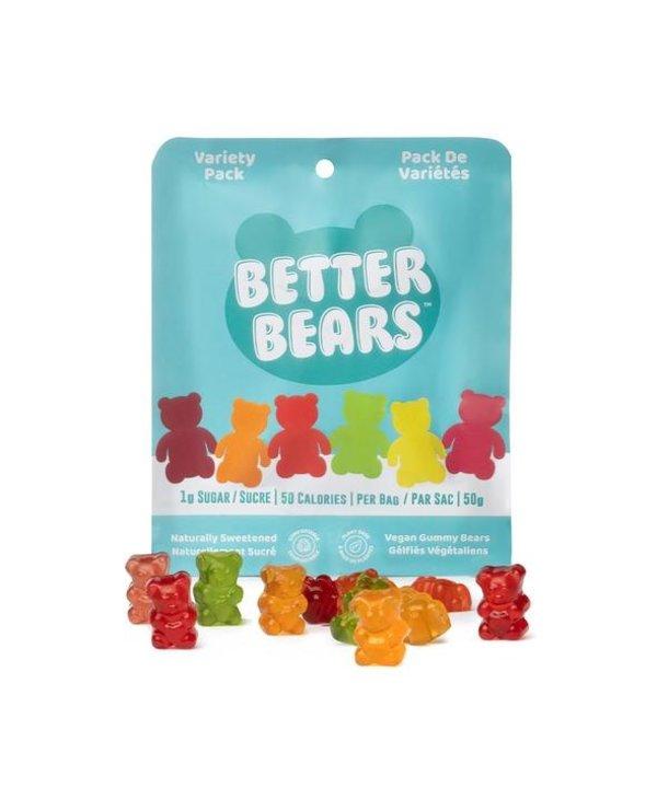 Better Bears Variety Pack