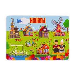 Children's Wooden Puzzle Holland