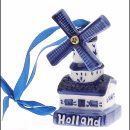 Windmill Holland Christmas Ornament