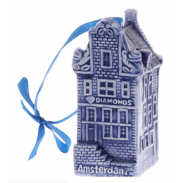 Amsterdam Diamond House Christmas Ornament