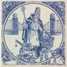"Sinterklaas  ""Children"" Tile"