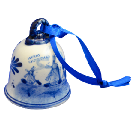 Merry Christmas Bell Ornament