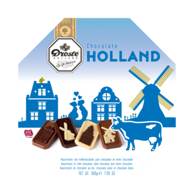 Droste Holland Edition Chocolates Gift Box 200g